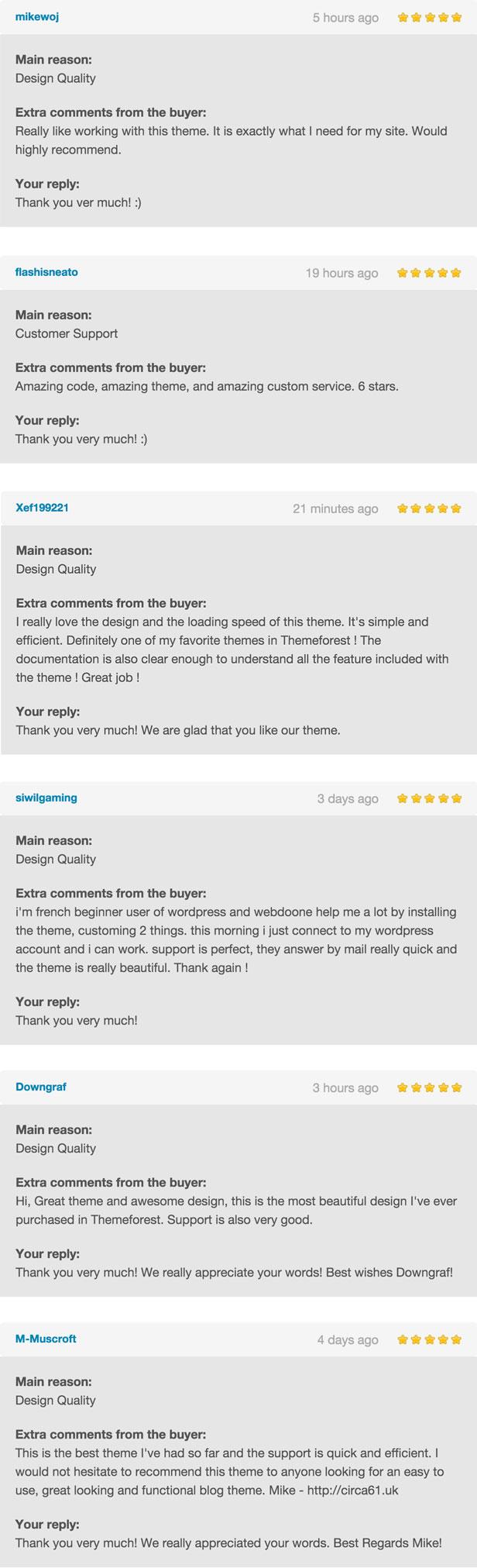 Ruby Theme - A Creative WordPress Blog Theme - 5